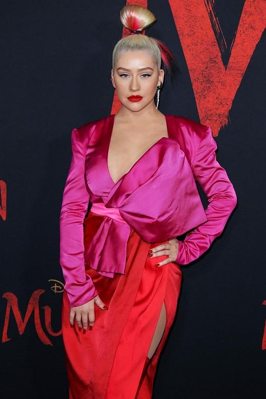 Christina Aguilera v prosinci oslavila čtyřicátiny a v rozhovorech nyní často mluví o tom, jak je díky věku rozumnější a má se víc ráda.