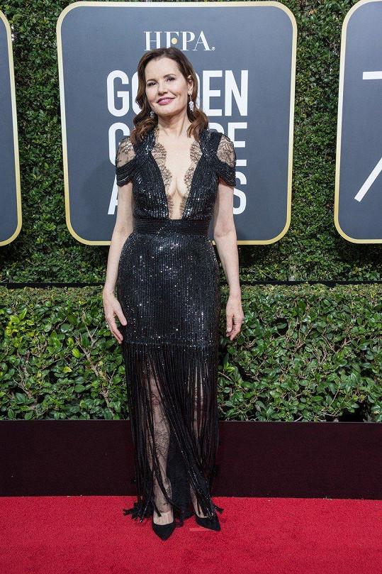 Jednašedesátiletá Geena Davis vypadá skvěle.