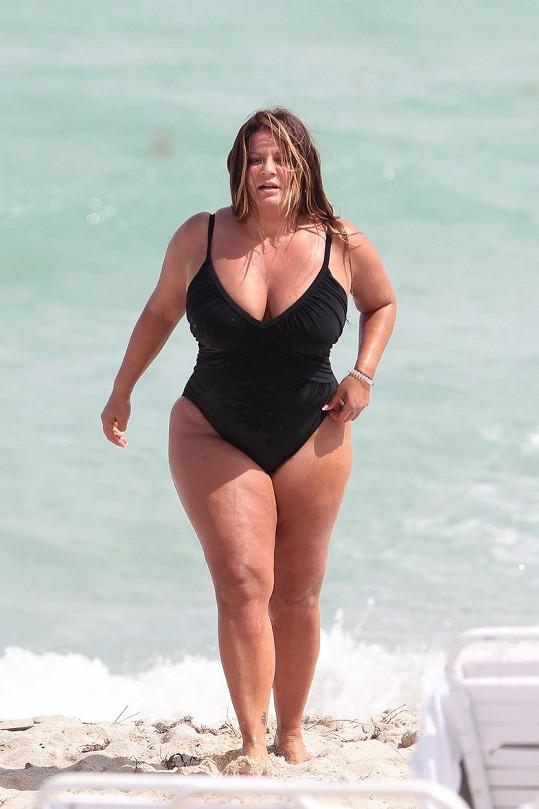 Karen z televizní série Mob Wives na Miami