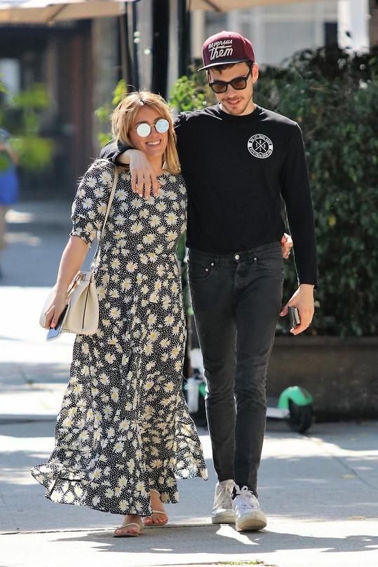 Hilary Duff s manželem Matthewem Komou
