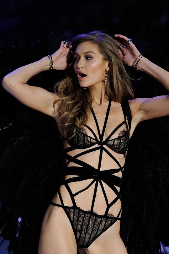 Gigi Hadid na přehlídce značky Victoria´s Secret
