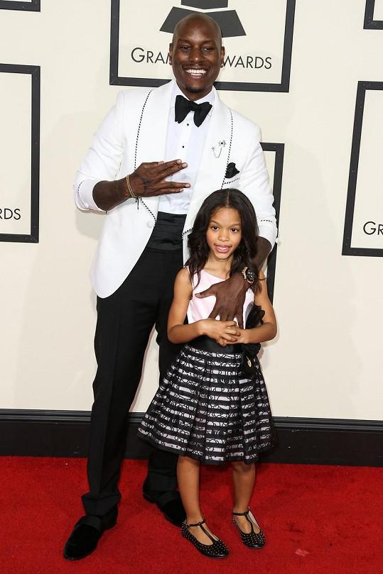 Na cenách Grammy s dcerou z předchozího manželství Shaylou