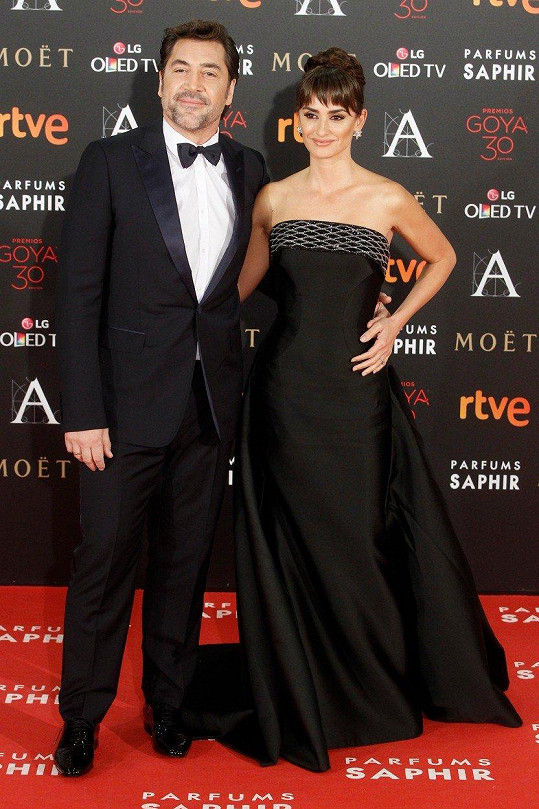 Penélope Cruz a Javier Bardem