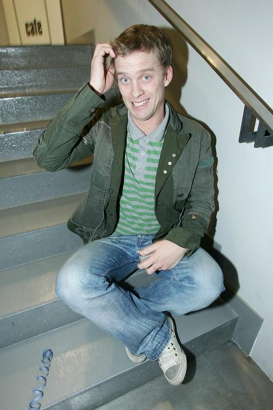 Jakub Prachař na snímku z roku 2007