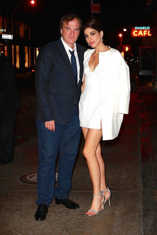 Quentin Tarantino se letos zasnoubil s Daniellou Pick.