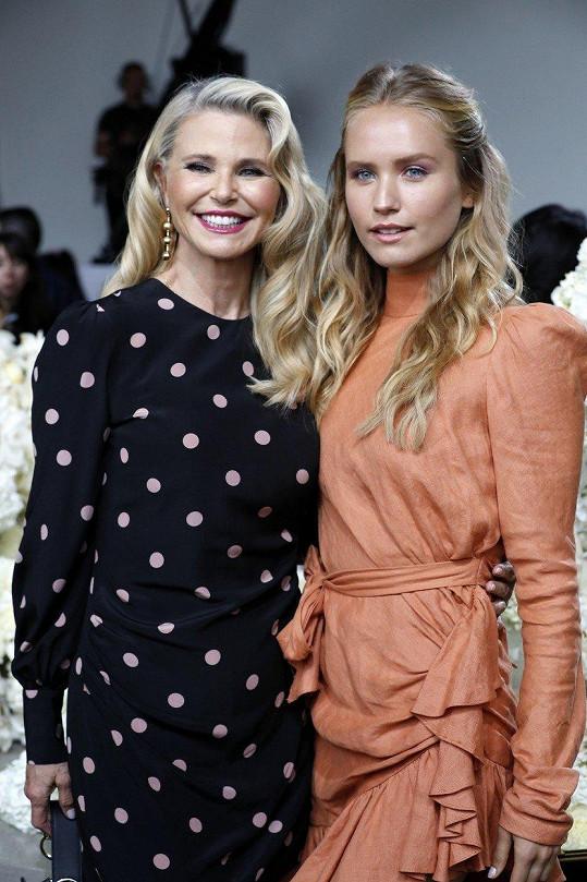 Christie Brinkley s mladší dcerou Sailor