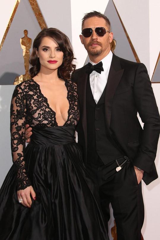 Charlotte Riley s manželem Tomem Hardym