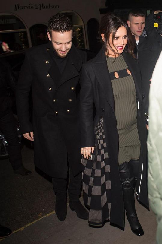 Cheryl Cole a Liam Payne očekávají prvního potomka.