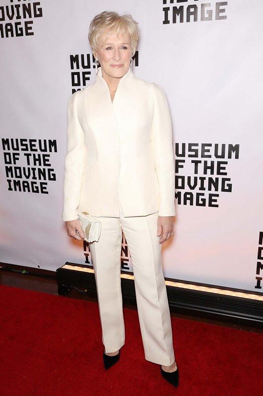 Glenn Close je uznávanou herečkou.