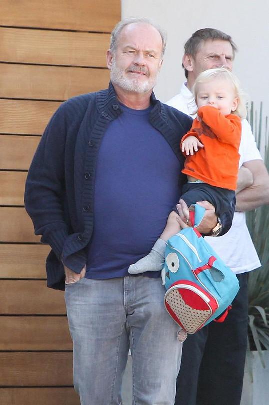 Kelsey Grammer je vzorný tatínek.