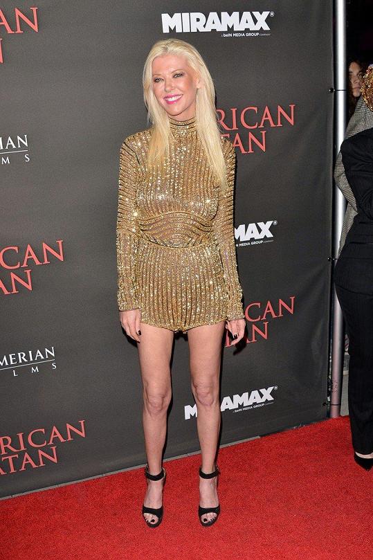 Tara Reid na premiéře thrilleru American Satan