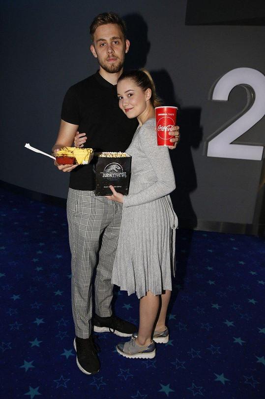 Vincent a Sabina vyrazili na film Solo: Star Wars Story.