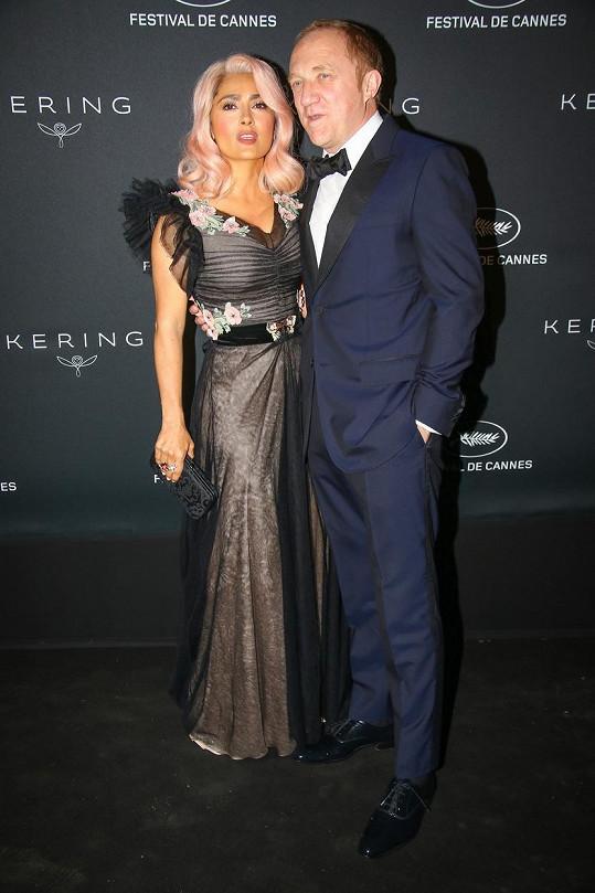 S manželem Francois-Henrim Pinaultem
