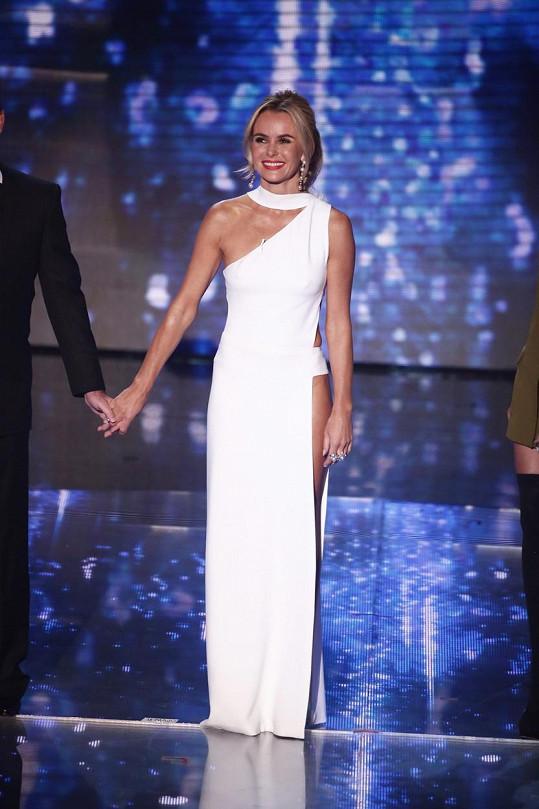 Zpěvačka na nedávném finálovém večeru soutěže Britain's Got Talent