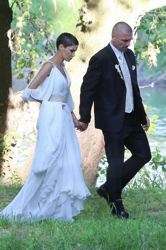 Vlaďka Erbová a Tomáš Řepka se vzali před dvěma lety.
