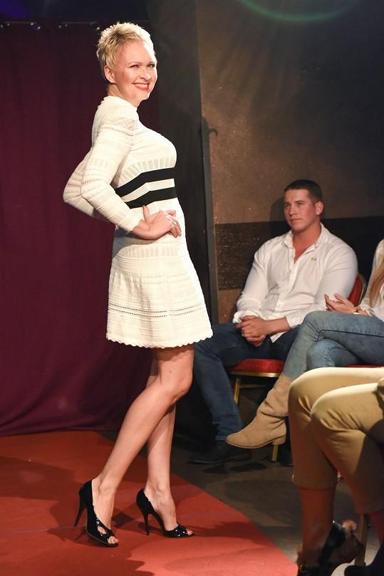 Slovenská moderátorka si vyzkoušela roli modelky.