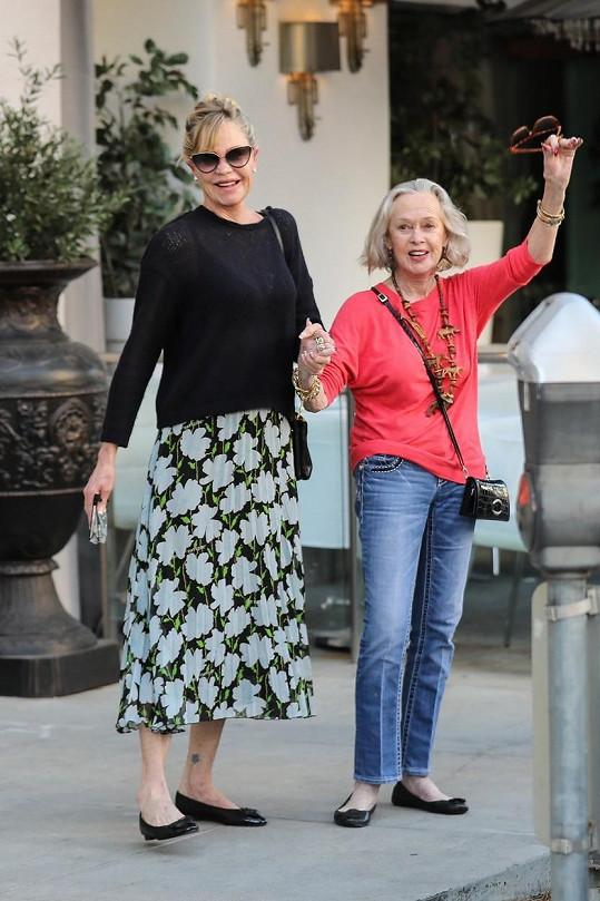 Melanie Griffith s maminkou Tippi Hedren
