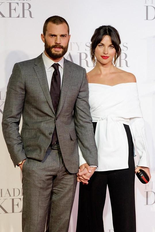 Jamie Dornan s manželkou Amelií Wraner