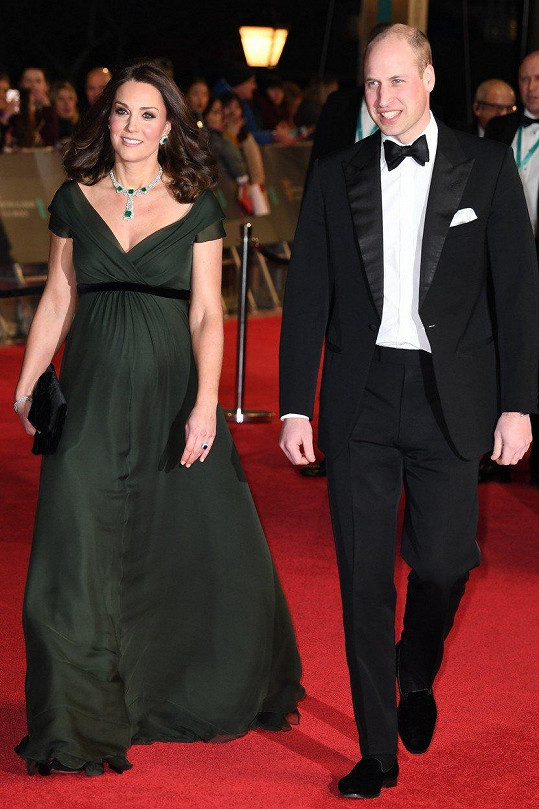 Kate a William byli zpestřením ceremoniálu.
