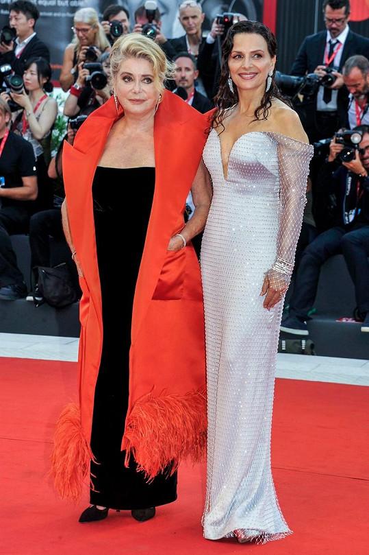 Juliette Binoche a Catherine Deneuve hrají v novém filmu La Vérité