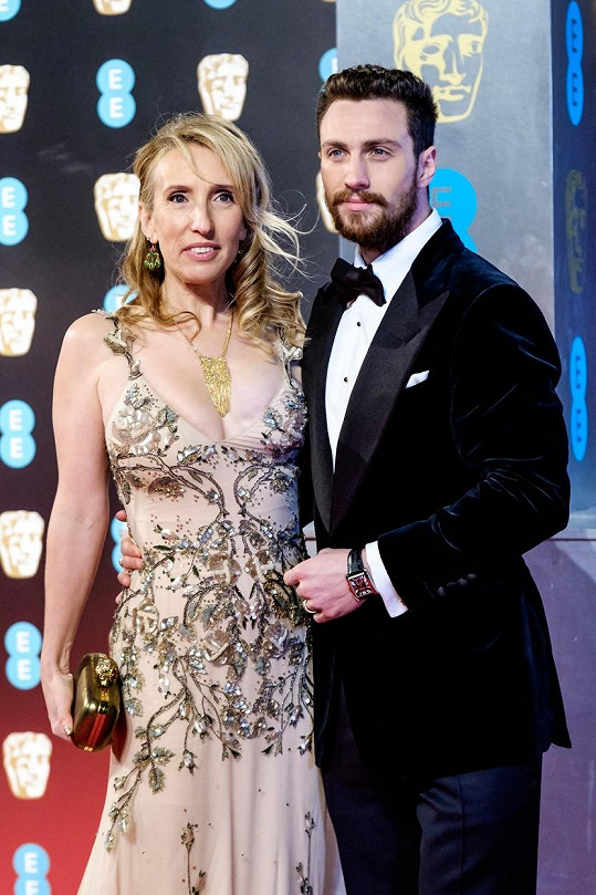 Sam a Aaron na udílení cen BAFTA