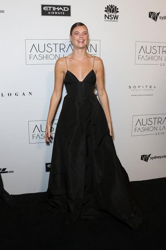 Montana Cox na Australian Fashion Week