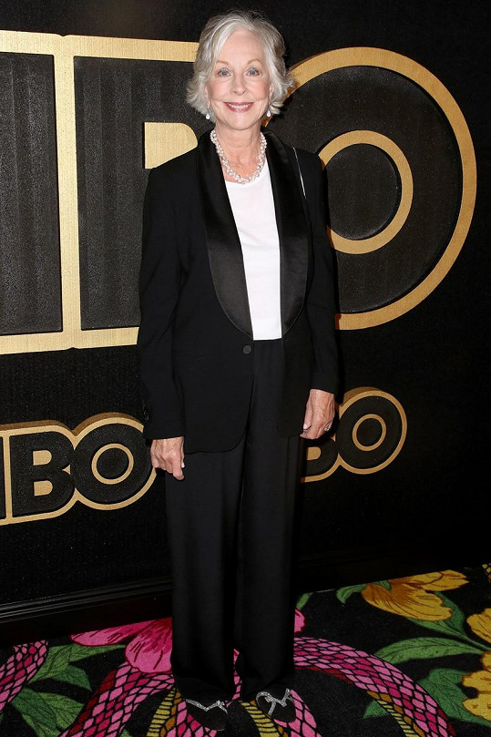 Christina Pickles si v Přátelích zahrála matku Moniky Judy Geller.