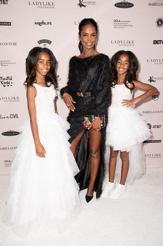 Kim s dcerami