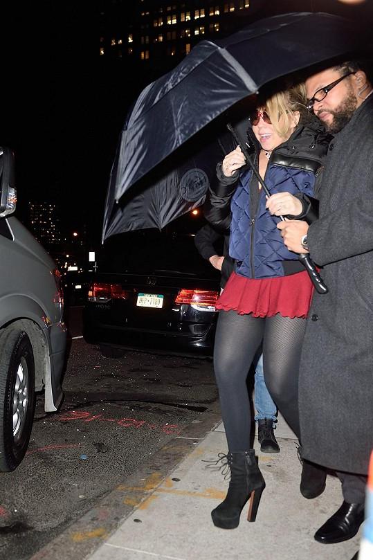 Mariah se svým bodyguardem