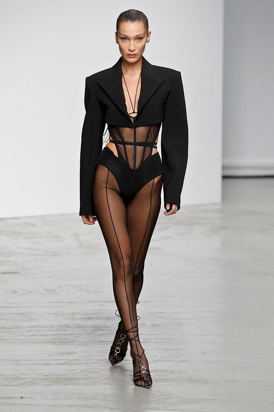 Bella Hadid je její módní inspirací.