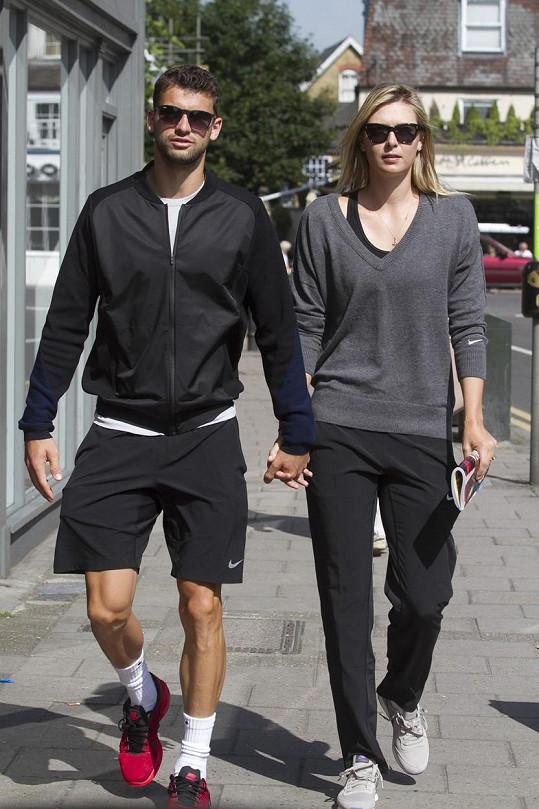 Grigor má za sebou dvouletý vztah s Mariou Šarapovovou.