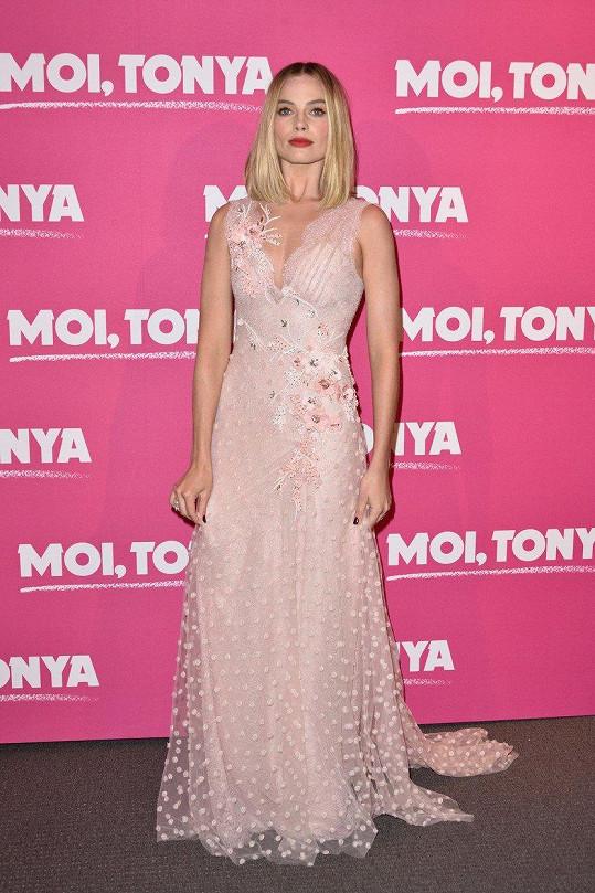 Margot Robbie uvedla v Paříži film Já, Tonya.