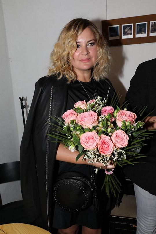 """""""Blondýnka budu ještě 15 dní a pak se vrátím ke své původní barvě,"""" prozradila Čvančarová."""