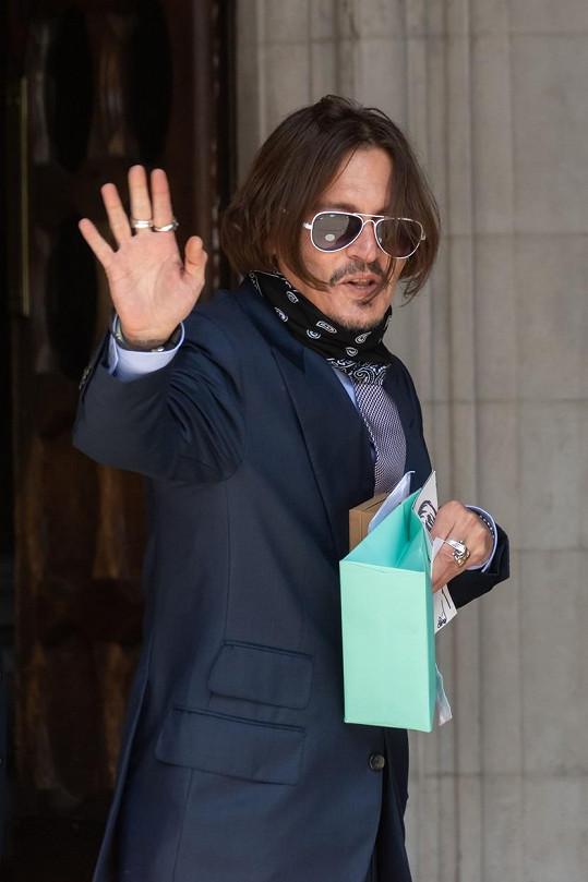 Johnny Depp se chystá na druhou polovinu karlovarského festivalu.