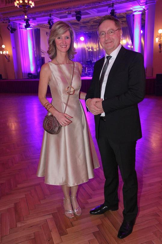Petr Arenberger s manželkou Monikou Arenbergerovou