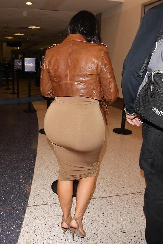 A takhle vypadá pozadí Kim Kardashian.