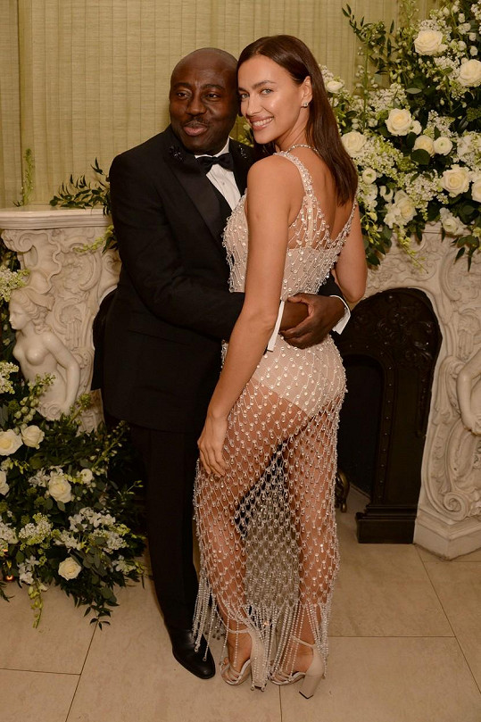 S editorem britského Vogue Edwardem Enninfulem