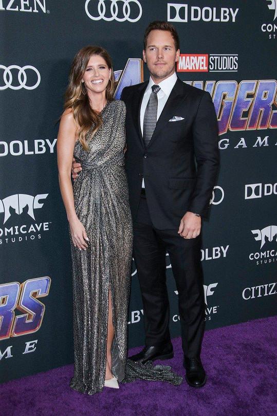 Chris Pratt a Katherine Schwarzenegger