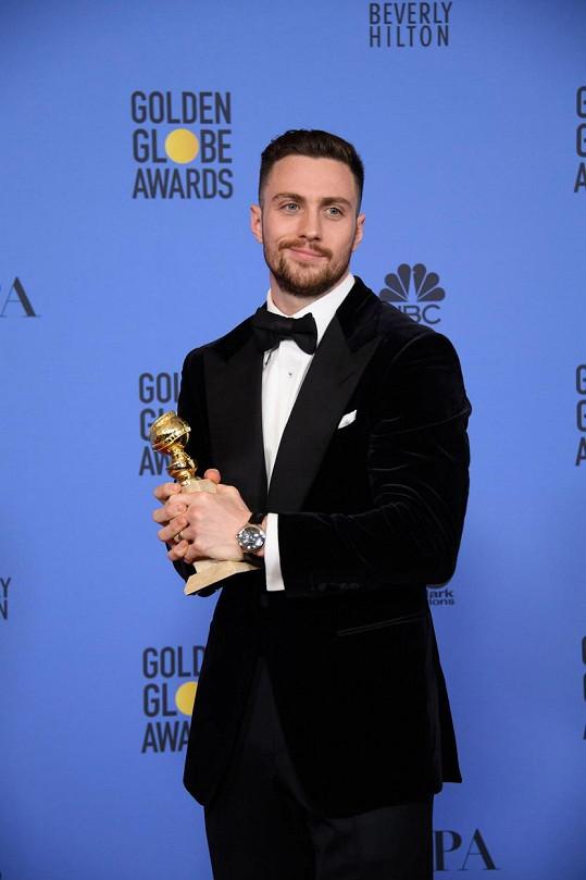 Aaron Taylor-Johnson získal Zlatý glóbus za vedlejší roli ve filmu Noční zvířata.
