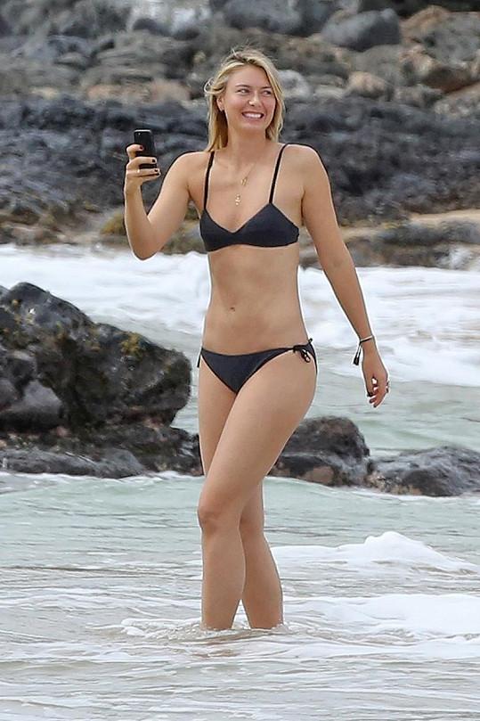 Maria Šarapovová na Havaji