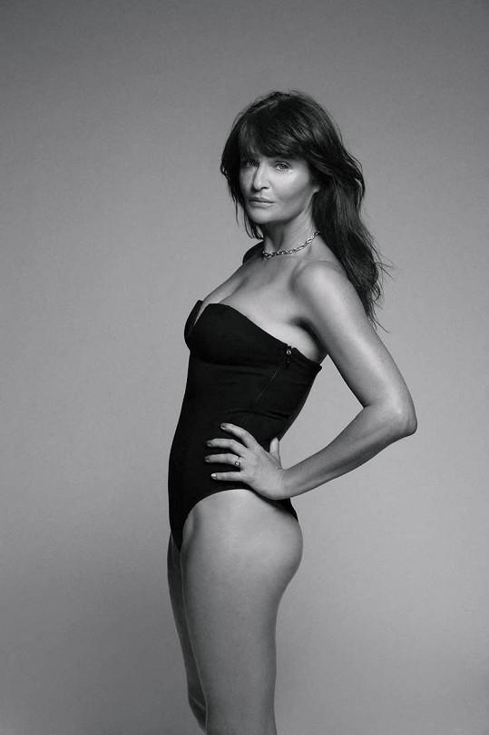 Helena Christensen se modelingu věnuje i po padesátce.
