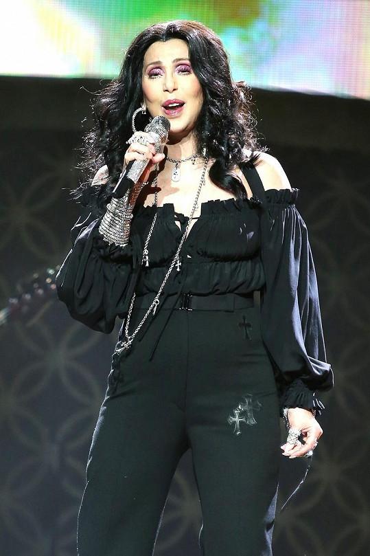 Cher je vděčným materiálem pro travesti umělce.