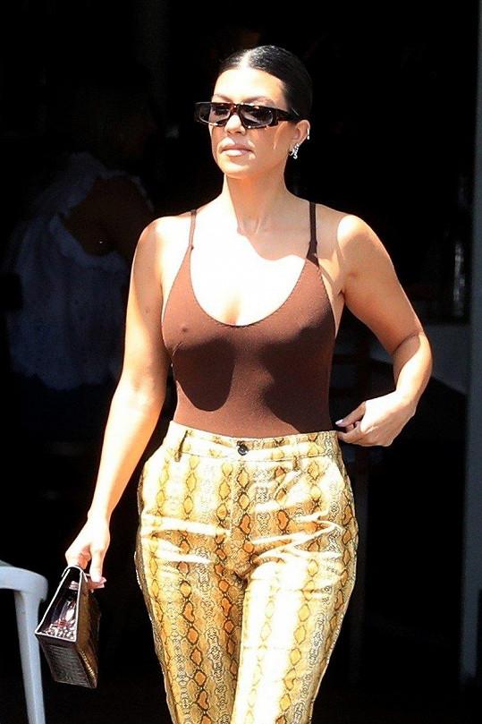 Kim Kardashian ráda provokuje.