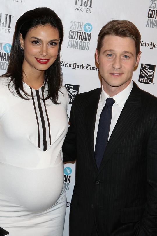 Morena Baccarin s manželem Benem McKenziem