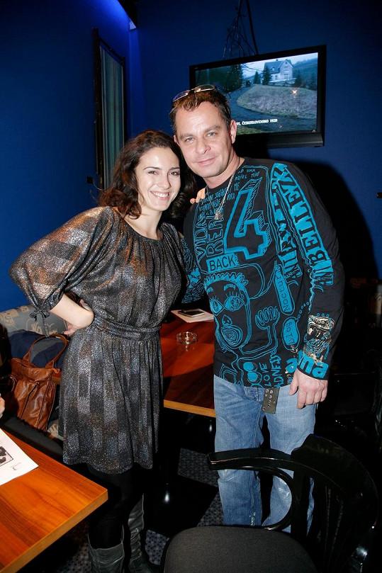 Lucia Siposová s Filipem Renčem v roce 2009