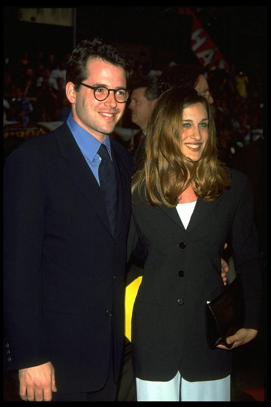 Matthew Broderick a Sarah Jessica Parker v roce 1996