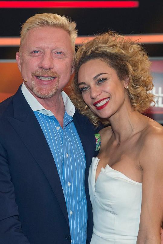 S manželem Borisem Beckerem