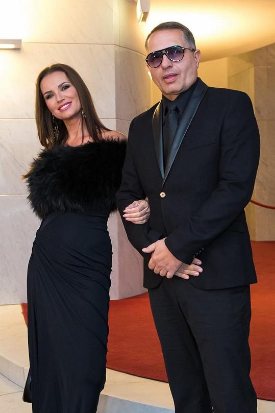 S manželem Paľem na galavečeru OTO