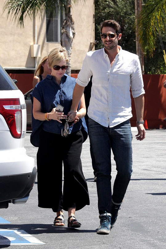 Jennie s manželem Davem Abramsem