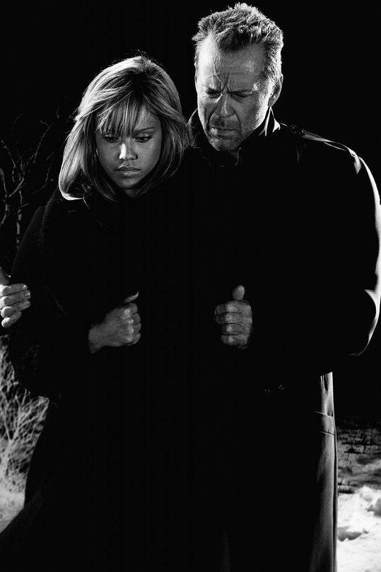 Bruce Willise potkala ve filmu Sin City.